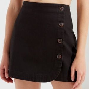 Urban outfitter Shelly Twill Mini Skirt xsmall
